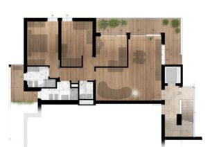 planimetrie klima home villafranca piani 1-2-3 quadrilocale