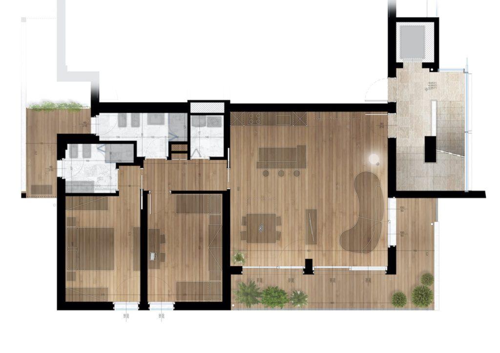 planimetrie klima home villafranca piani 1-2-3 triocale